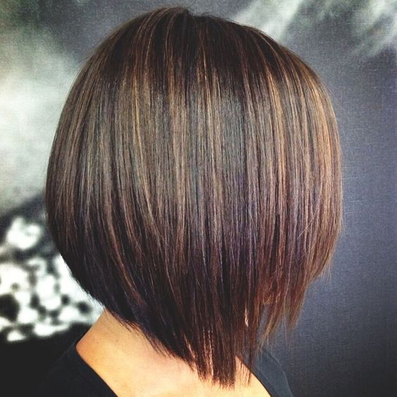Stripy caramel highlights
