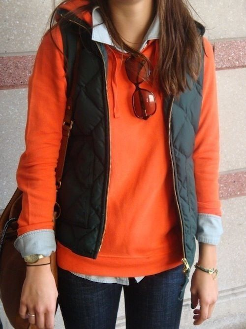 Vibrant comfortable outfit