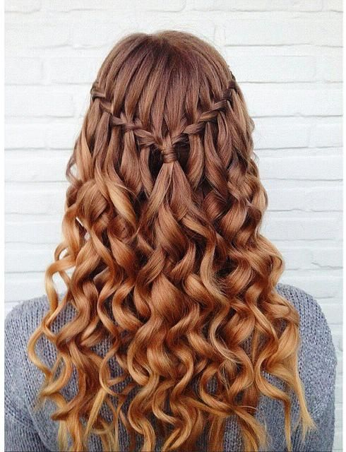 Waterfall curls