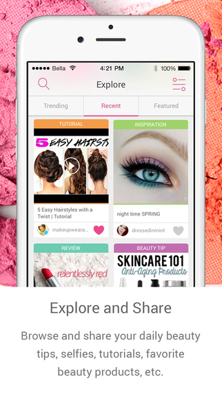 Bellashoot – Best beauty iOS app