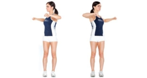 Standing twists