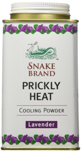 Snake Brand Prickly Heat Cooling Powder Lavender
