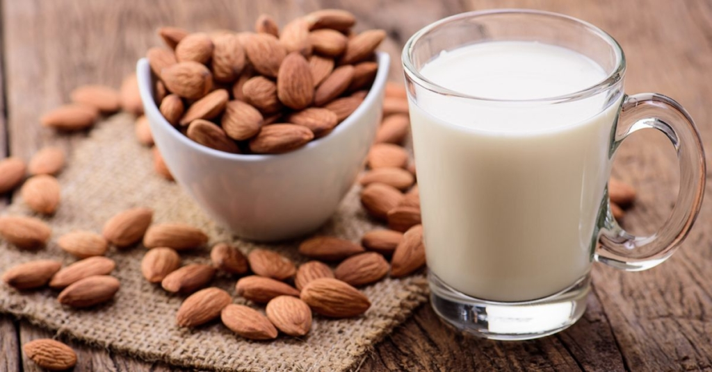 Almond with milk