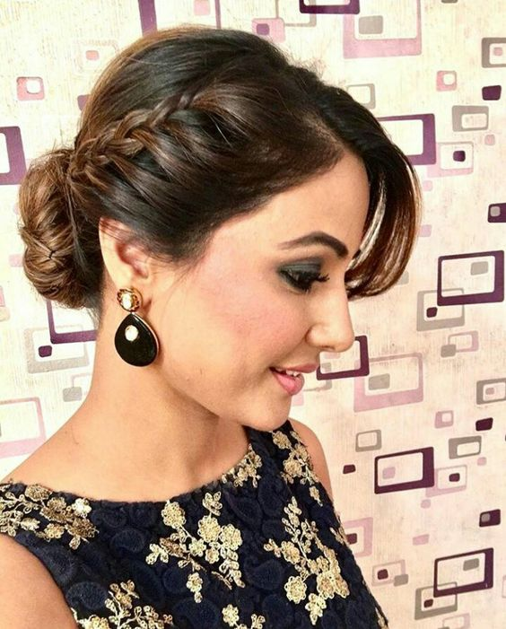 Simple Indian Hairstyles: Best Braid Hairstyles For Sarees
