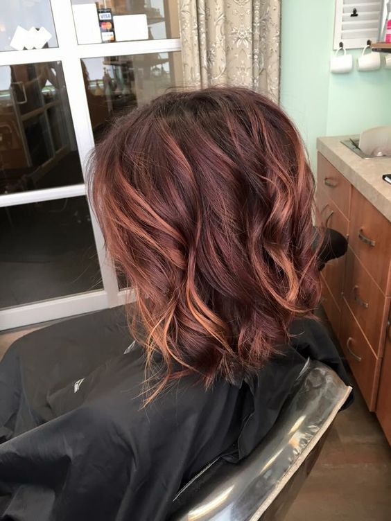 Copper Balyage