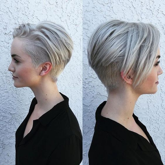 Dainty Short Layered Undercut