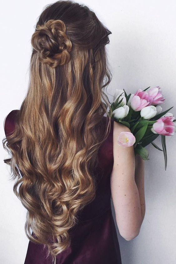 Half Up Half Down Hairstyles Collection