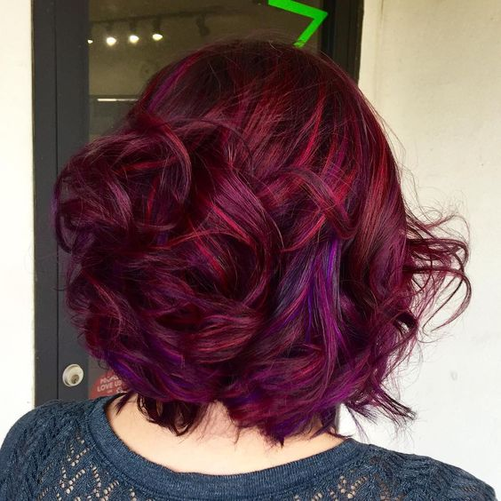 Red Lavender for Soft Waves