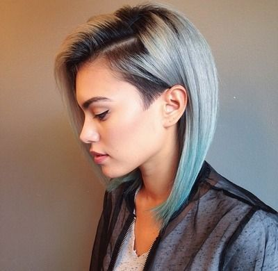 Side undercut on hybrid colors