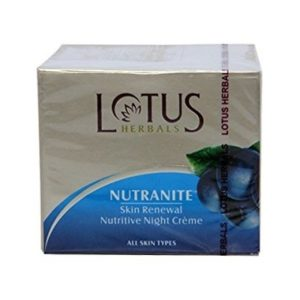 Lotus Herbal Nutranite Skin Renewal Nutritive Night Cream