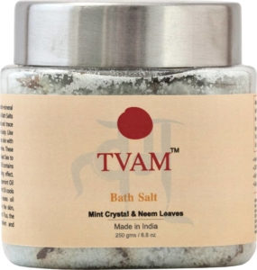 Mint and neem bath salts