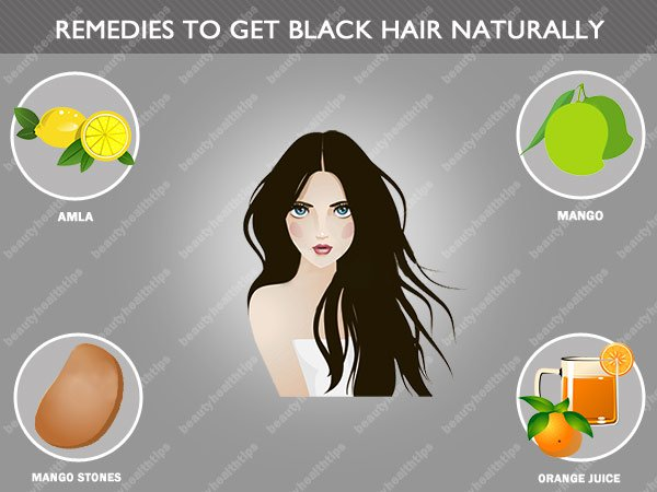 Home Remedies To Get Black Hair Treatment To Turn White