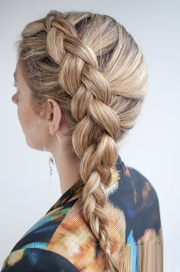 Inside-out side braids