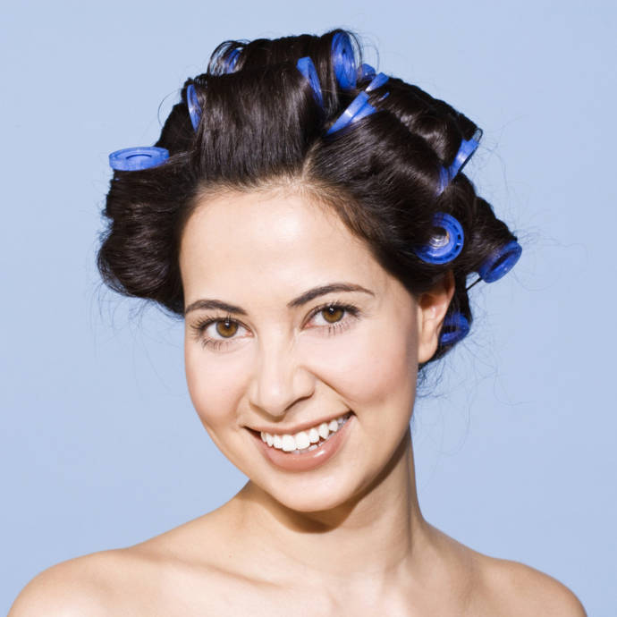 curler hair styles ways on how to use the rollers to style simple 3063