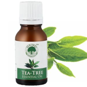Tea tree oil for acne scars