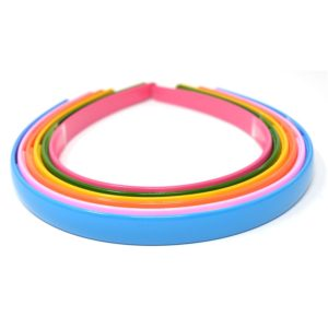 Anokhi ADA Daily Use Premium Quality Multicolor Plastic Sleek Hair Band for Girls