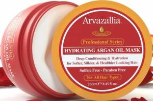 Arvazallia Harvazallia hydrating Argain oil hair mask for dry hair