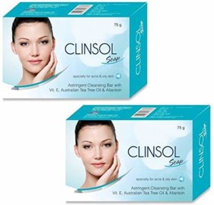 Bajaj Clinsol Anti-Bacterial Bar Soap for Oily Skin