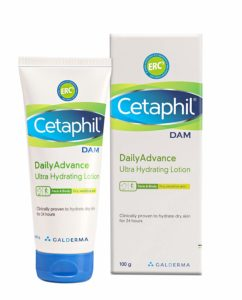 Cetaphil Daily Advance Ultra Hydrating Lotion for dry skin