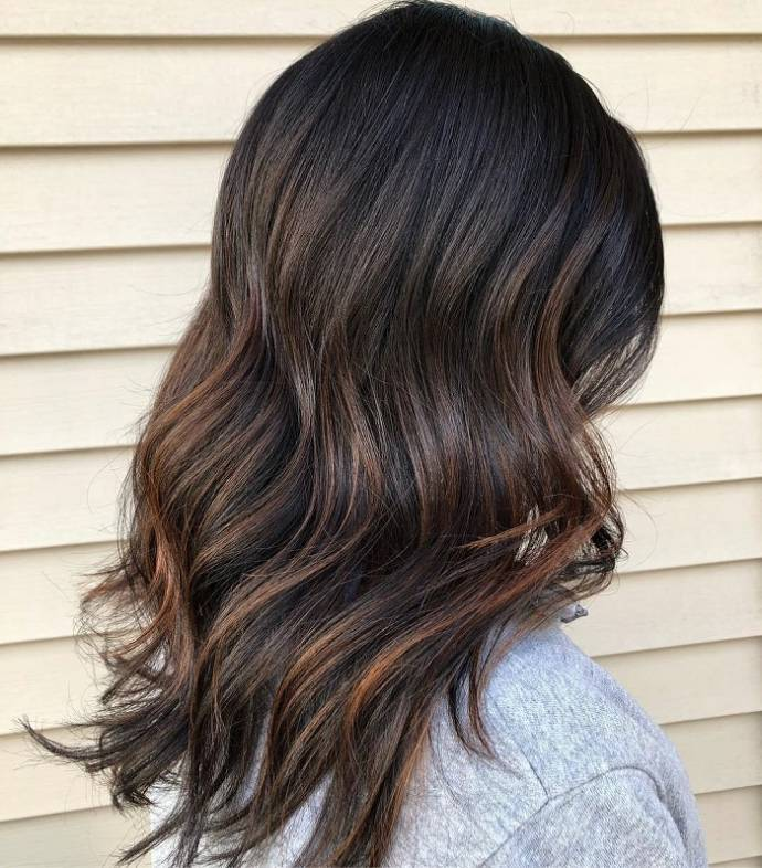 Top Fabulous Ideas Dark Brown And Black Hairstyles With