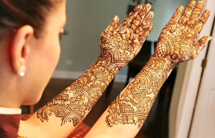 Full Hand Mehndi Design Bridal Henna Designs For Full Hands