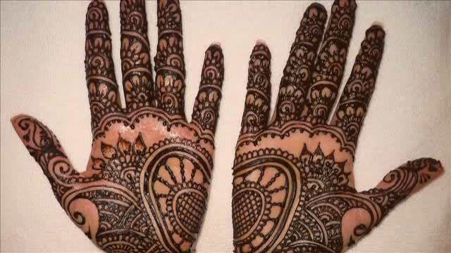 Indian mehendi arts