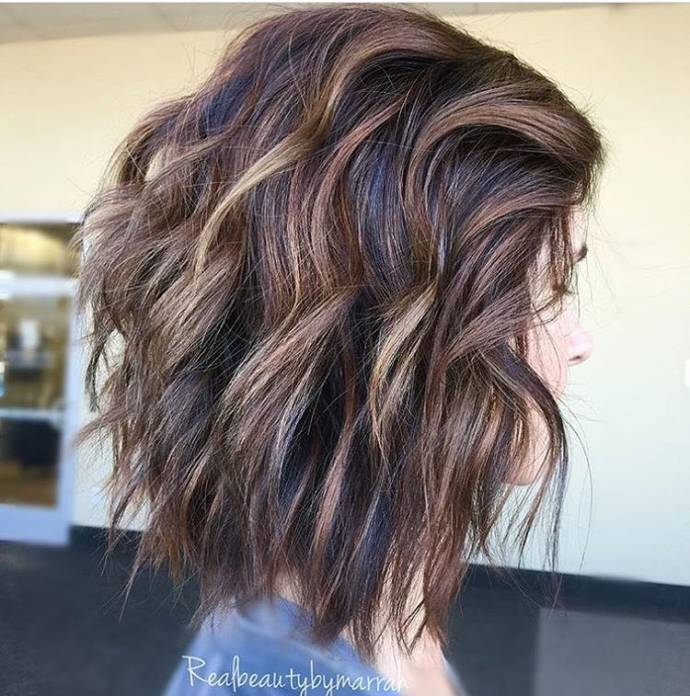 Top Best Short Glorious Black Brown Hairstyles With Blonde Highlights