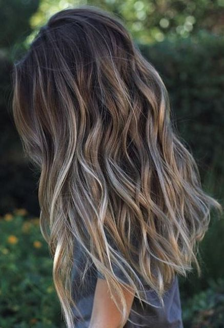 Light Brunette Balyage Hair