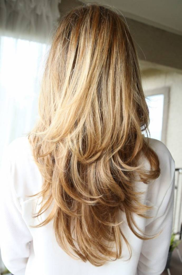 Long Light Brown Hair With Blonde Highlights Best Top