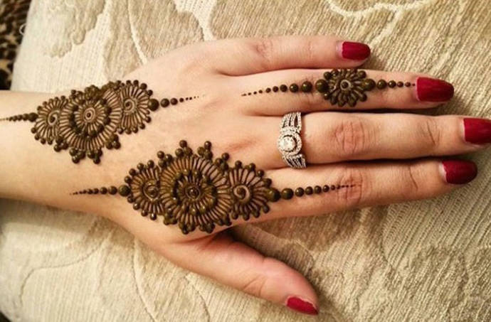 Mehndi patches all the way