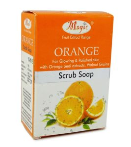 Nature's Essence Orange Scrub Soap