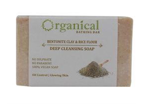 ORGANICAL Bentonite Clay Soap for Oily Skin/ SLS