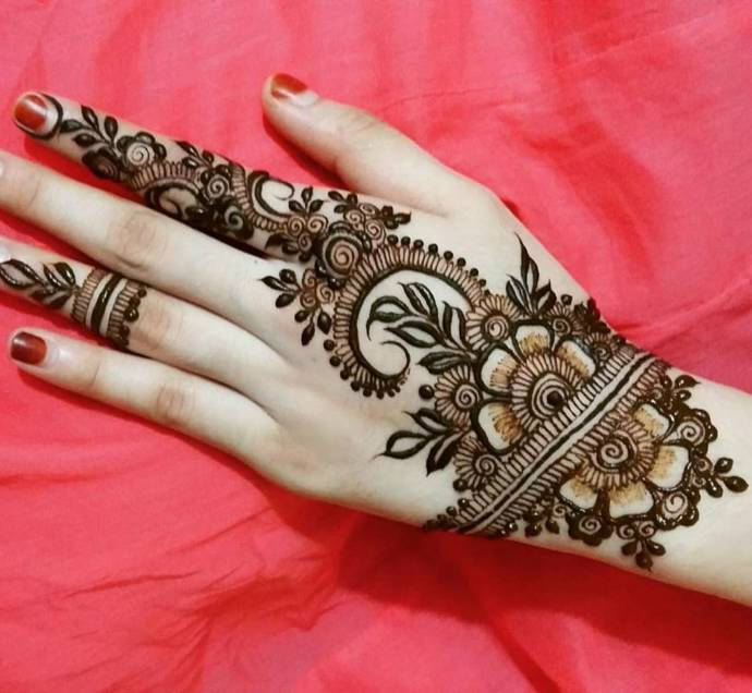 Arabic Mehndi Design For Men: Free Download Images Of Simple Arabic Mehndi Designs For