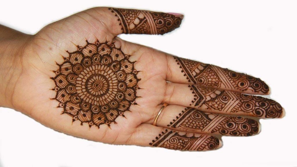 Eimple bridal mehendi design