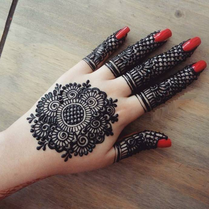 Circle mehndi designs – RoundMandala henna designs for hands forecast