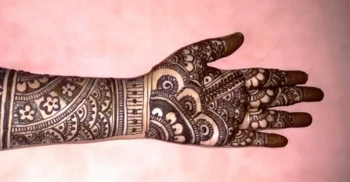 Image result for Full Hand Mehandi Designs