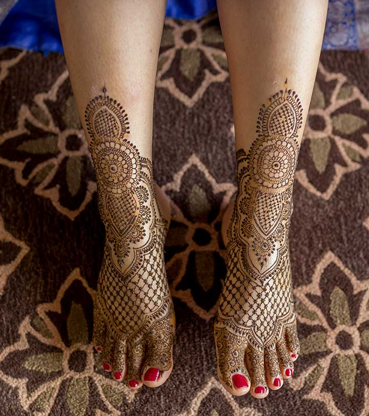 Try 15 Beautiful Leg Mehandi Or Henna Designs By Seeing
