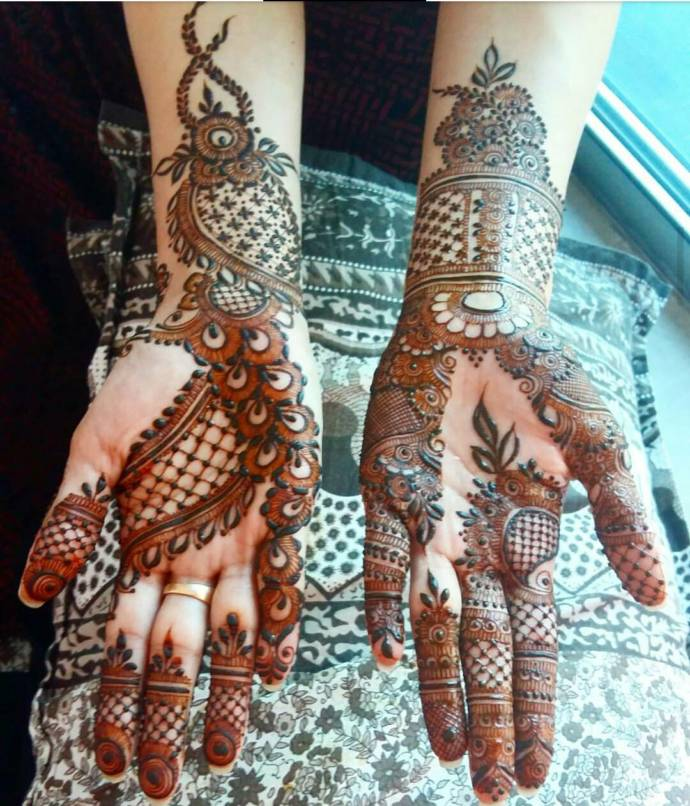 latest marwari mehndi designs collection for hands 2019