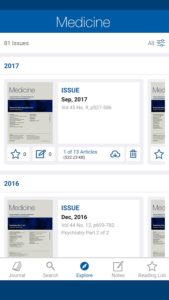 Medical Journal Apps