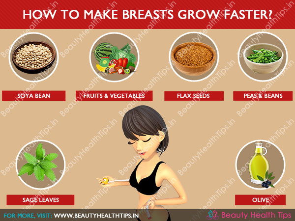 What Makes Breasts Grow Naturally