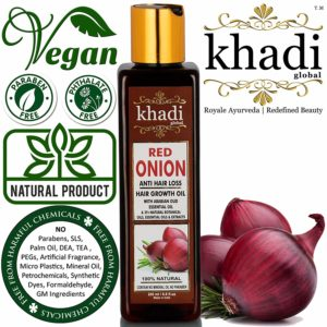 Khadi Global Red Onion Shampoo