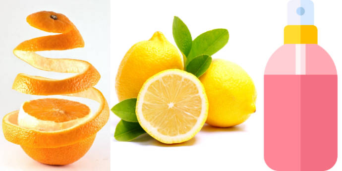 Orange peel with lemon juice and rose water to treat dark armpits