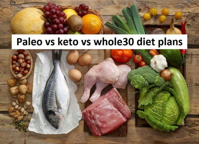 Paleo vs keto vs whole30 diet plans - What are the major differences?