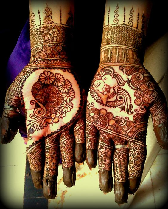 Beautiful art work mehendi designs