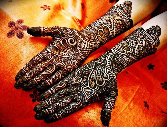 Bridal purpose mehendi art designs