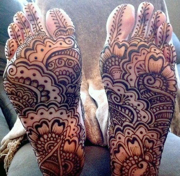 The Traditional Mehndi