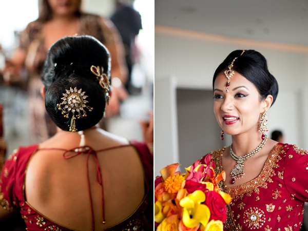 Latest Bridal Hairstyles For Wedding Sarees Indian Hairstyles For