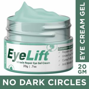 Bella Vita Organic Eye Lift Eye Cream Gel for Dark Circles