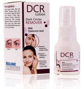 DCR dark circle remover lotion