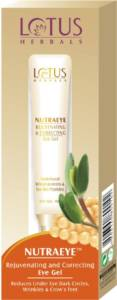 Lotus herbals nutraeye rejuvenating and correcting eye gel